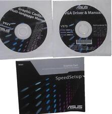 original Asus Treiber CD DVD V979 GTX560 direct CU driver manual Grafikkarte NEU