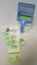 Neater Scooper and 60 Count Refill Bag Bundle - Cat Litter Sifter Scoop System