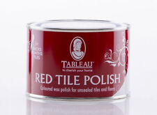 Tableau Red Tile Floor Polish 250ml Ideal replacement for Cardinal Red Polish