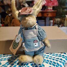 "Nwt Boyds Hare Bunny Rabbit Emily Birdhouse Outfit 9"""