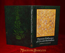 THIRTEEN PATHS OF OCCULT HERBALISM by Daniel Schulke, LIMITED, Witchcraft XOANON