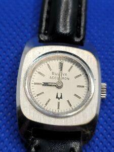Vintage Bulova Accutron. Mvt 2210, 1974 Mvt. Cased 1976 (N6). 15 Jewels