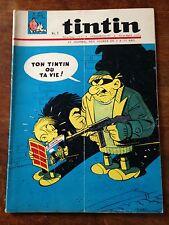 journal tintin france 871 (1965) doc bd tour de france dossier peugeot 204