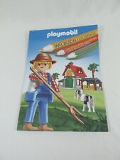 Super Rare - Paperback Playmobil Coloring Book - Wonderful for Kids