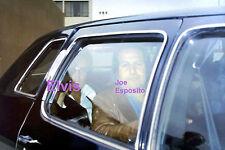 ELVIS PRESLEY WITH JOE ESPOSITO IN LIMO LOS ANGELES CA 5/11/74 PHOTO CANDID
