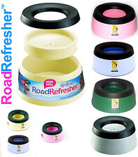 Prestige Plastic Road Refresher Pet Travel Bowls, two sizes,4 different colours