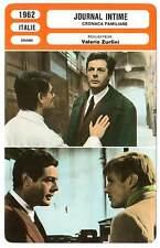 FICHE CINEMA : JOURNAL INTIME - Mastroianni,Perrin,Zurlini 1962 Family Diary