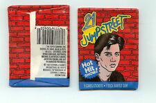 1987 Topps 21 Jump Street single Wax Pack