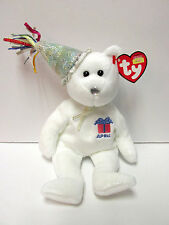 "Ty Beanie Baby ""April"" w/Party Hat, Birthday Beanie Collection, New-Mint Tags"