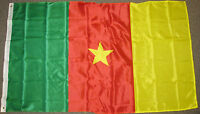 3X5 CAMEROON FLAG NATIONAL FLAGS NEW BANNER SIGN F602