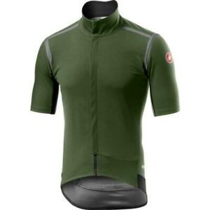 Castelli Gabba RoS Short Sleeves Bicycle Cycle Bike Jersey Military Green