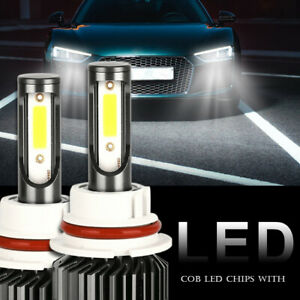 Fit For Dodge Dakota 1997-2004 2X LED Headlight Bulb Hi/Low Kit 9007 HB5 White