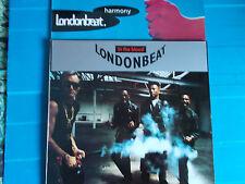 LP LONDON BEAT IN THE BLOOD ++LONDON BEAT HARMONY  NUOVISSIMI LOOK