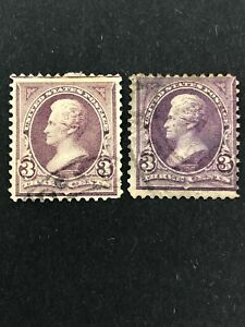 Stamp Usa 1890 3 Cent Different Color Rare