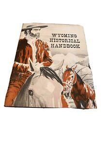Vintage 1960s Wonderful WYOMING Historical Handbook Booklet Brochure hunting ++
