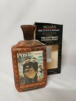 Beam's 1976 Bicentennial Limited Edition Decanter Post Series Norman Rockwell