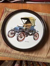 1904 Cadillac Metal Serving Tray Antique Car Vintage Collectible-Atlantic Can Co