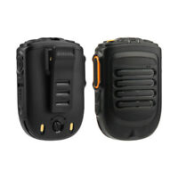 PTT Hand Microphone Handheld Bluetooth Two Way Radio Black Replacement Durable