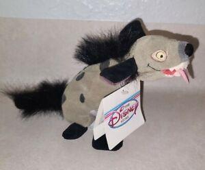 """Disney Store Lion King Hyena Ed The Crazy One 8"""" 1994 Bean Bag Plush W/ Tag"""