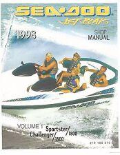 Sea-Doo Service Manual 1998 Challenger & Challenger 1800