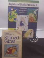 2 Stained Glass Pattern Books