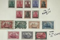 Danzig #Mi1-Mi15 Mint/Used CV€109.40 Collection on Page [1-15]