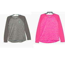 New Champion Girls Raglan Long Sleeve T-Shirt Choose Size and Color MSRP $18.00