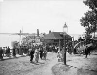 1905 Photo-Peaks Island Ferry-Portland Maine-Coney Island of Maine-Casco Bay