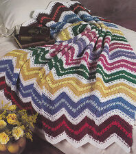 Crochet Pattern ~ WEAVE RIPPLE AFGHAN ~ Instructions