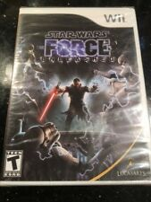 Star Wars: The Force Unleashed (Nintendo Wii, Brand New Factory Sealed