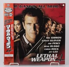 04334 F/S by Air Mint Laserdisc LETHAL WEAPON 4 [PILF-2694] w/OBI