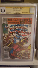 Captain America 266 CGC 9.6 Signed by Mike Zeck Spider Man app.