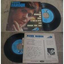 PIERRE BAROUH - La Chanson Du Port Rare French EP Sixties Pop Bossanova 1964