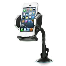 Windshield Car Mount Holder for Apple iPhone 6 6S Plus SE 5 5S 4 Galaxy S7 Edge