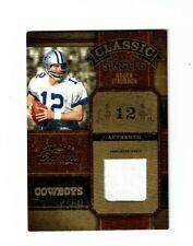 2004 Donruss Classics Roger Staubach Jersey #65/150 Dallas Cowboy Rare!