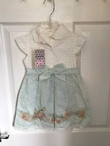 STUNNING GENUINE BRAND NEW TAGGED GIRLS PARTY DRESS BY LAPIN HOUSE AGED 3 YEARS