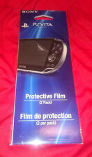 RARE! OFFICIAL GENUINE BRAND NEW Sony PlayStation Vita PS Vita Screen Protectors