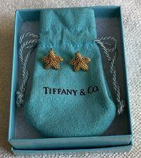 Vintage Tiffany & Co. 18K Gold Starfish Earrings
