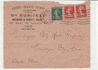 france 1919  fishing & beekeeping stamps cover ref 20833