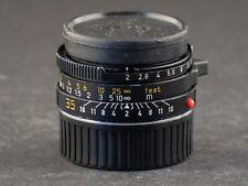 Leica M 35mm 2.0 Summicron 11310 6bit King of Bokeh schwarz FOTO-GÖRLITZ