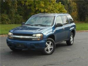 2006 Chevrolet Trailblazer LS 4X4 SUV 1 OWNER LOW 77K MILES ACCIDENT FREE