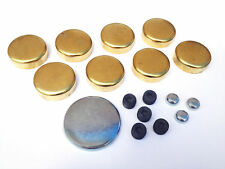 SBC Chevy Brass Freeze Frost Plug Kit Small Block 283 305 327 350  MPE-100BR USA