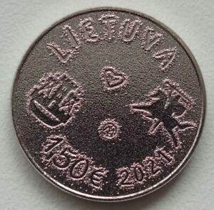 Lithuania 2021 1.5 euro  Unc