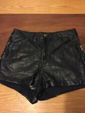 H&M Leather Shorts for Women