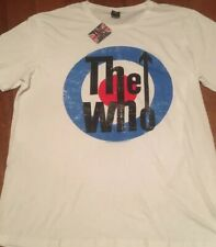 The Who Rock Band T-Shirt,White New Size 4XL