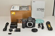 Nikon D7100 24.1MP Cámara SLR Digital Negro Body con Caja #181106a