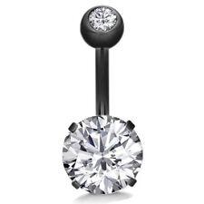 Belly Button Ring Crystal Rhinestone Jewelry Navel Bar Body Piercing Jewelry