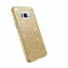 AUTHENTIC Speck Cell Phone Case Samsung Galaxy S6 - Gold Glitter/Clear