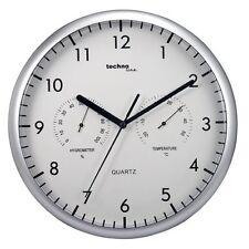 Reloj de Pared con Termometro Higrometro Quarz Oficina Despacho Profesional