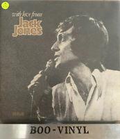 JACK JONES With Love From DOUBLE LP VINYL 1972 Double Gatefold EX+